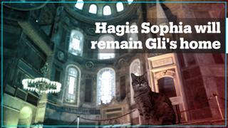 Hagia Sophia will remain Gli's home
