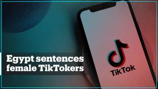 Egypt imprisons five female influencers over TikTok posts