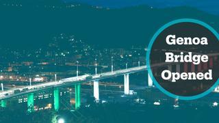 Italy opens new Genoa bridge
