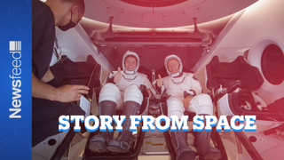 The first commercial manned space mission through astronauts eyes