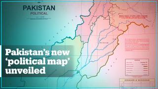 Pakistan unveils new 'political map'