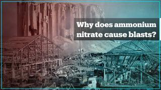 Ammonium nitrate is no joke. Here's why