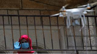 Drones deliver supplies to COVID-19 patients in West Bank  | Money Talks