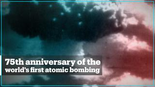 Japan marks the 75th anniversary of the world's first nuclear attack
