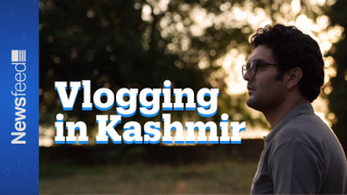 Vlogging from Kashmir: Cameras and Checkpoints