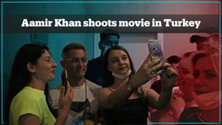 Bollywood star Aamir Khan arrives in Turkey for his new movie