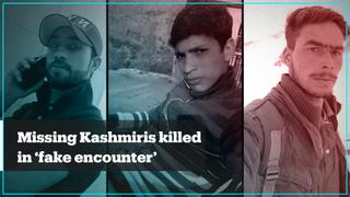 Did the Indian army kill Kashmiri civilians in a staged operation?