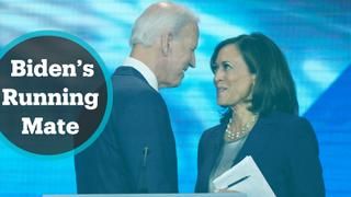 Joe Biden picks Kamala Harris as 2020 running mate