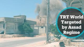 TRT World team targeted by Assad regime in Syria