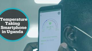 Ugandan tech company makes smartphones with thermometre