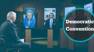 High-profile figures address virtual Democratic convention in US