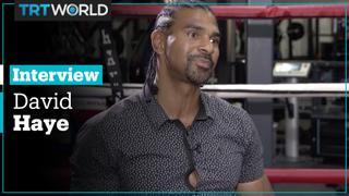 David Haye talks to Rachael Downie about the return of Boxing