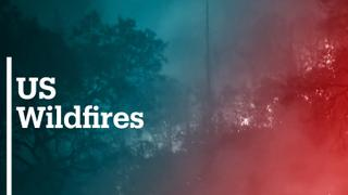 Wildfires force people to flee their homes