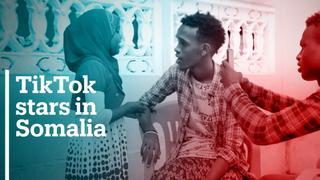TikTok stars in Somalia
