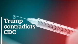 Trump contradicts CDC over timing of vaccine availability