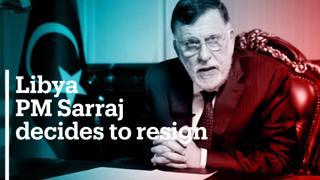 Prime Minister Fayez al Sarraj resigns before peace talks