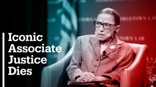 Supreme Court judge Ruth Bader Ginsburg dies of cancer at age 87