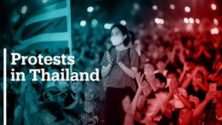 Thailand protesters seek limited powers to monarchy