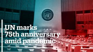 UN celebrates 75th anniversary amid pandemic