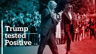 Trump, Melania quarantine after positive Covid-19 tests
