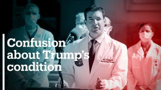 White House doctor: Trump not out of the woods yet