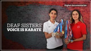 Deaf sisters' voice is Karate