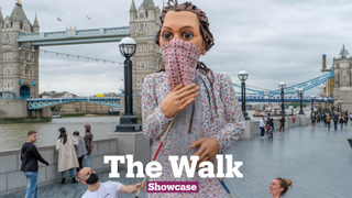 The Walk: Giant Refugee Puppet
