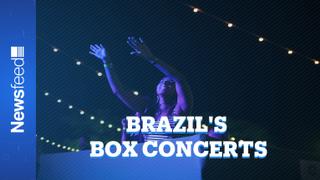 Brazil's concerts return in time of coronavirus