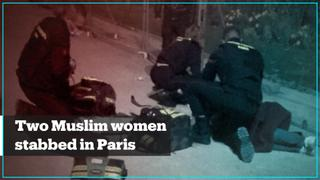 Two Muslim women stabbed under the Eiffel Tower