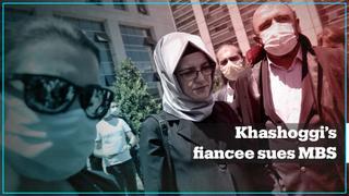 Khashoggi's fiancee sues Saudi Crown Prince Mohammed bin Salman