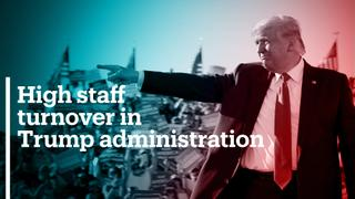 Trump administration has highest staff turnover in 40 years