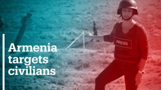 Unexploded rocket lands in civilian farm in Azerbaijan