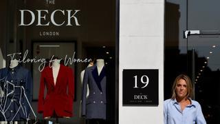 Entrepreneur opens tailor for women on London's Savile Row | Money Talks