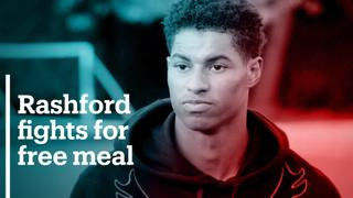 Man Utd's Rashford fights for free school meals