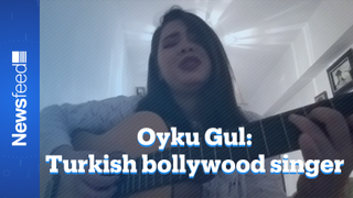 Turkish singer who made it big on an Indian reality show