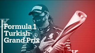 Hamilton clinches record-equalling seventh world title   F1 Turkish Grand Prix Review