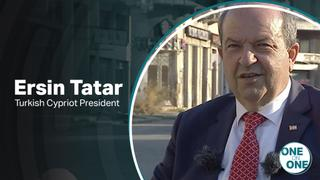 One on One with Turkish Cypriot President, Ersin Tatar