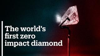 A UK company has grown world's first zero impact diamond