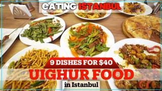 Eating Istanbul: Incredible Uighur food feast