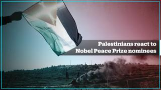 Palestinians react to controversial Nobel Peace Prize nominations