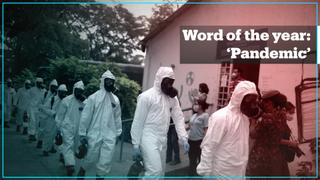 Dictionaries chose 'pandemic' as the word of the year