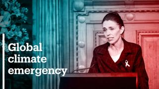 New Zealand declares global climate emergency