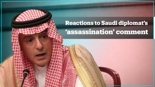 Saudi diplomat causes stir online over 'assassination' comment