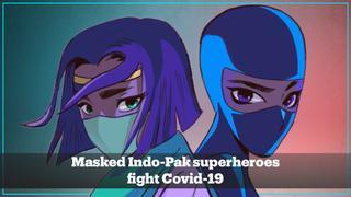 Priya's Mask: India's female superhero fights Covid-19 infodemic