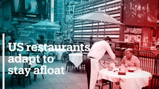 US restaurants adapt to stay afloat during Covid-19
