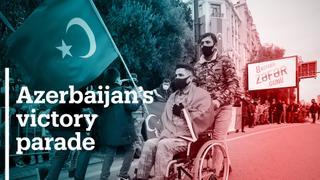 Azerbaijan holds parade after Nagorno-Karabakh victory