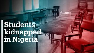 Hundreds of students are missing after gunmen raid school in Nigeria