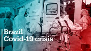 Covid-19 cases surge in Brazil crippling the health sector