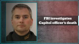 FBI questioning dozens over police death at Capitol