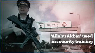 UK security company wrote 'Allahu Akbar' on fake bomb during training